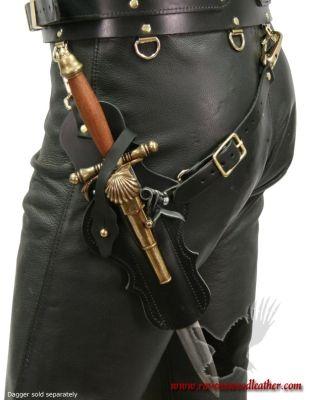 Warrior Belt Flintlock Dagger Holster [ Swordnarmory.com ] #Pirate #weapons #swords