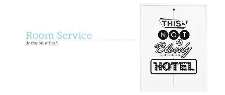 Póster Room Service Print de One Must Dash. ¡Dale una nueva imagen a tu casa! #oneMustDash #poster #lamina #print #artPrint #decoration #decoracion #estiloescandinavo #scandinavian #estilonordico @Jonathan London must dash