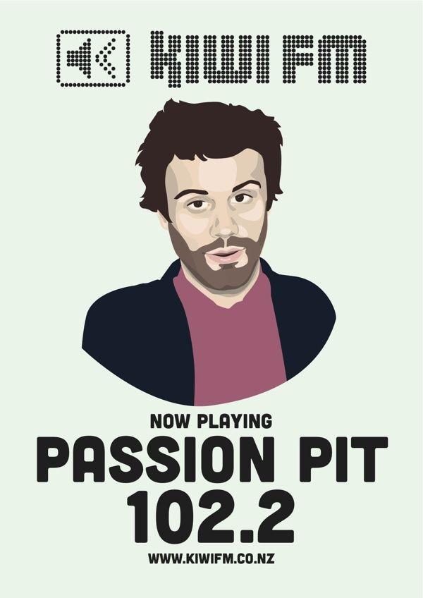 Passion Pit for Kiwi fm
