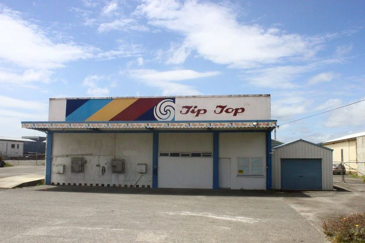 The old Tip Top factory building in Gisborne next to my dads work