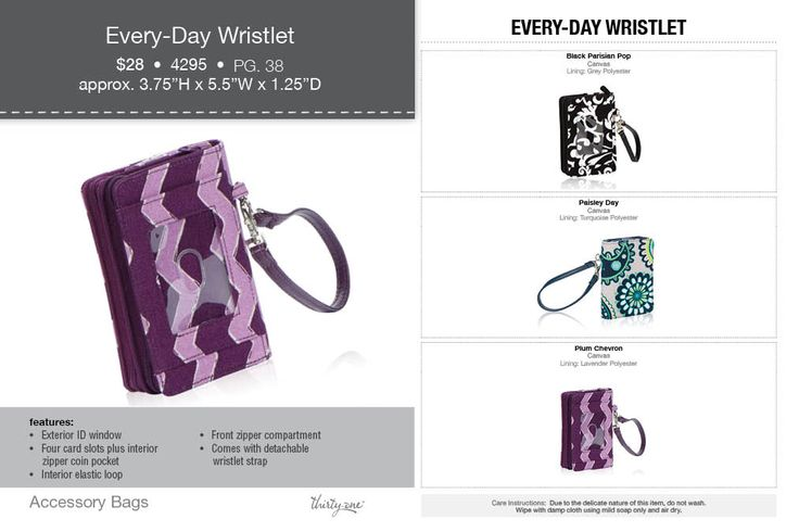 Every Day Wallet, fall 2014 thirty one gifts. Join my FB. group. https://www.facebook.com/groups/221123648035423/
