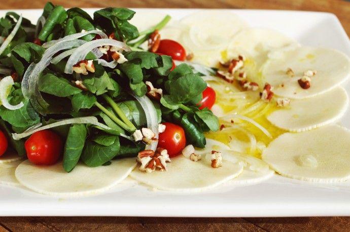 Salada de Carpaccio de Pupunha_F&F