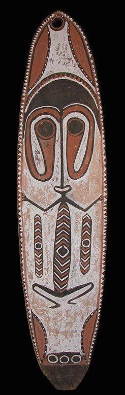 New Guinea Papuan Gulf Kerewa Gope Board   eBay