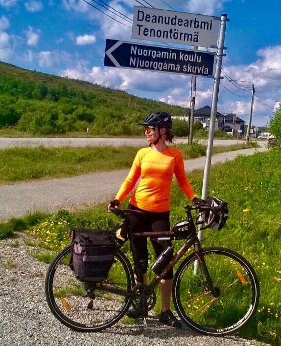 Cycling Polkupyörällä Nuorgamiin 1582km ja 16 ajopäivää – Rooslife