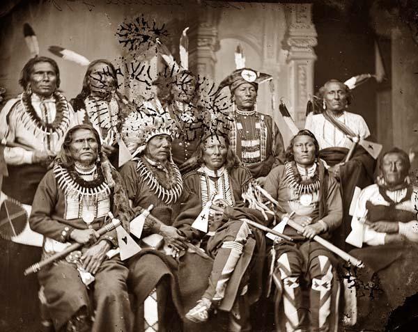 Pow Wow Photos – PowWows.com » » Description Native American Chiefs 1865.jpg
