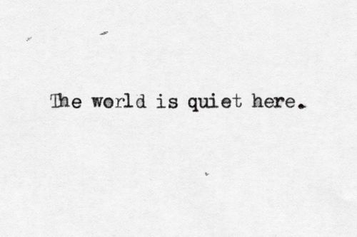 The World is Quiet Here - The Unofficial Lemony Snicket ...