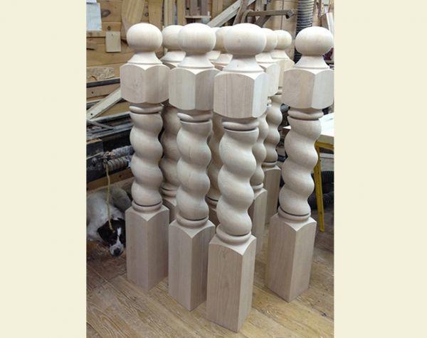 Best Alder Spiral Newels Staircase Pinterest Galleries 400 x 300