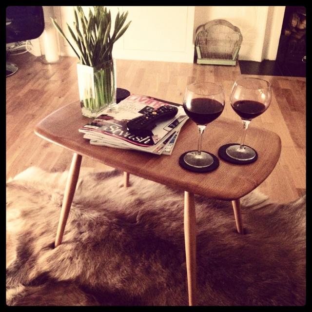 Ercol coffee table.