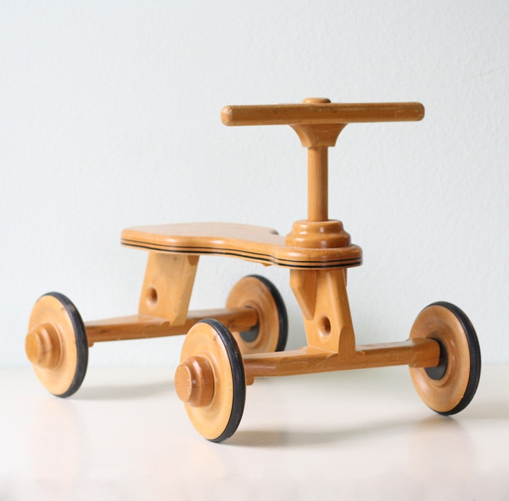 Wooden Ride On Toy
