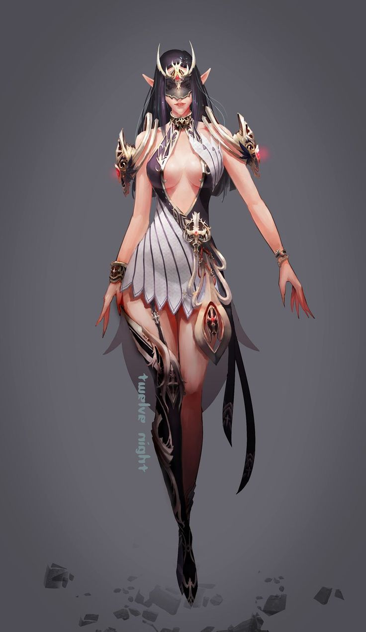 Game Anime Character Design Book : Best games fantasy characters images on pinterest