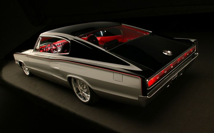 67 Dodge Charger What a gloriously beautiful photo of a classic fastback!