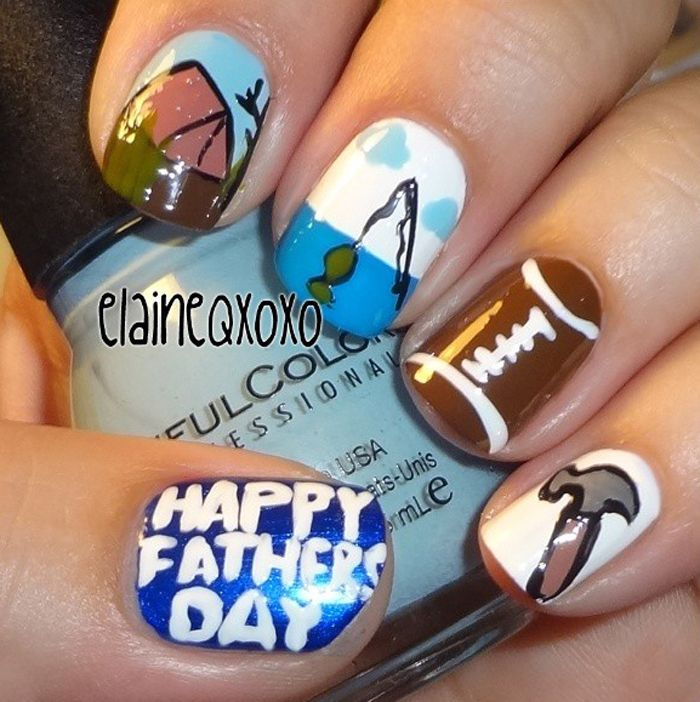 31 best Mothers / Father\'s Day nails images on Pinterest | Mom ...