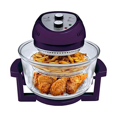 The Big Boss16Qt. 1300 Watt High Speed, Low Energy Oil-Less Fryer is traditional cooking reinvented. This energy efficient tabletop cooker combines halogen heat, convection and infrared technology leaving food moist on the inside and browned and crispy on the outside without the use of added...