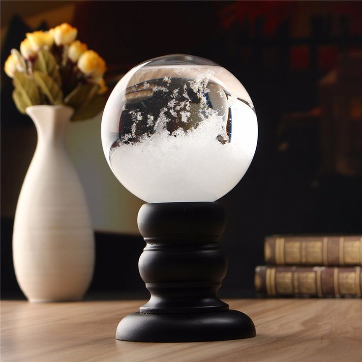 Weather Forecast Crystal Storm Glass Creative Home Decor Christmas Gift