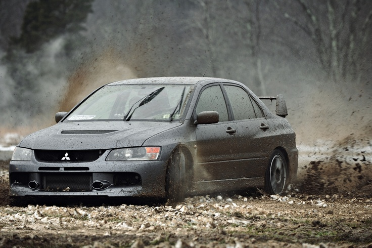 Who says cars can't have fun in the mud ????