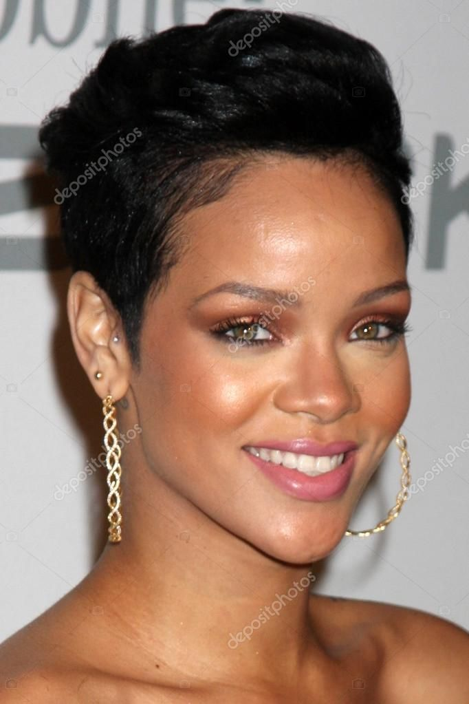 Rihanna Stock Photo Aff Rihanna Stock Photo Ad Short Afro Hairstyles Short Hair Styles Afro Hairstyles