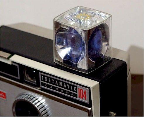 Cameras have come a long way...no more flashcubes