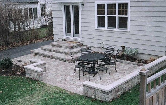 17 best ideas about small covered patio on pinterest for Concrete patio ideas for small backyards