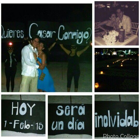 Exitosa  entrega #AnillodeCompromiso dinamica especial.  #LoveMemories #CreandoMomentosMemorables #Cancun #RivieraMaya #PlayadelCarmen #Tulum