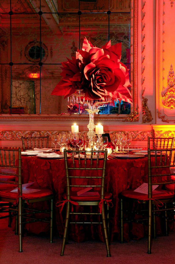 red decorations for wedding cross palm rafanelli events floral paper 7000