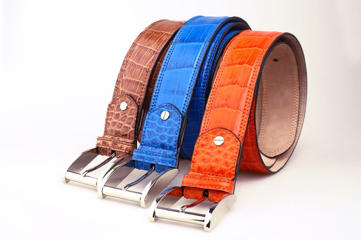 Premium Nile Crocodile unisex belt in an array of exquisite colors