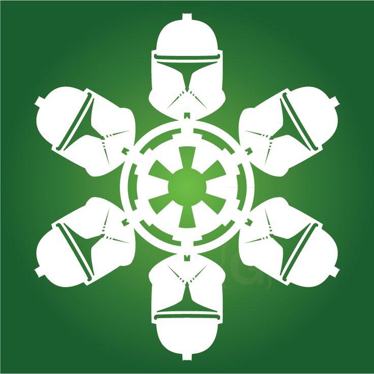 47 best Star Wars Snowflakes images on Pinterest Star wars - snowflake template