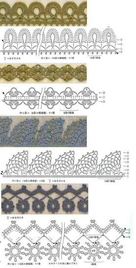 Fancy crochet diagram