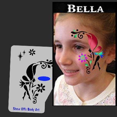 SEP Bella Fairy Profile – SOBA - Show Offs Body Art