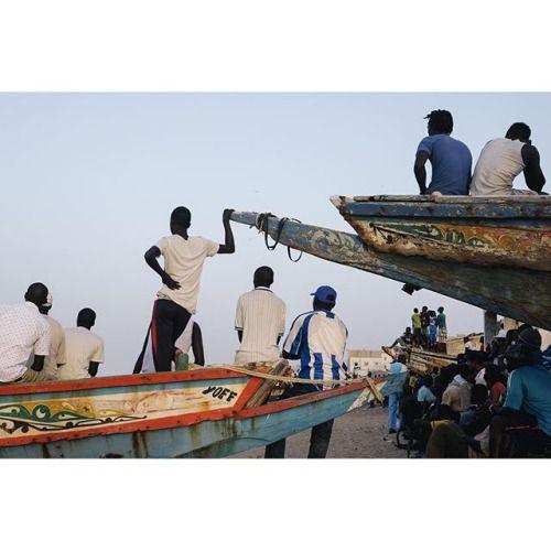 Football match on the beach at Yoff Tonghor - Dakar, Senegal