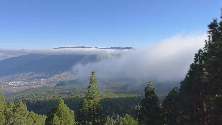 Wolkenwaterval La Palma. Informatie weer en klimaat: http://www.lapalma-oceaanzicht.nl/canarische-eilanden-weer-klimaat