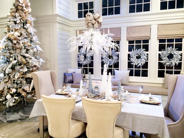 Now Thats A Dinner Party From QVC Lisa Robertson Christmas The Set Was Like WOW Each Friday Night During November Through December Decor