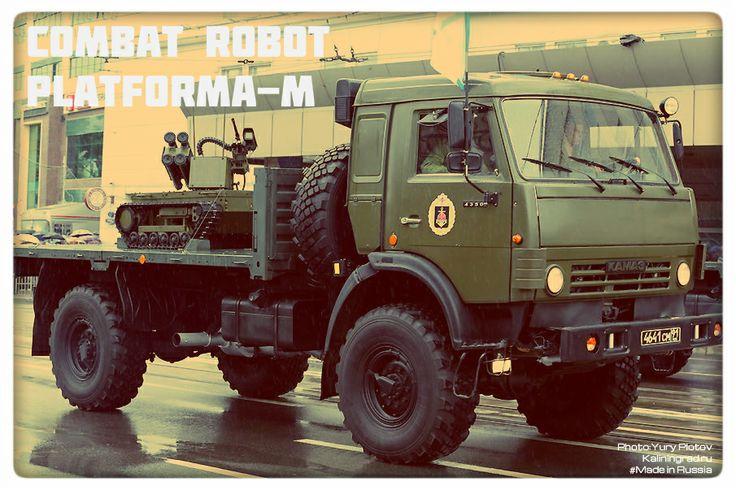 #Robots #RussianRobot #PlatformaM  #Kaliningrad