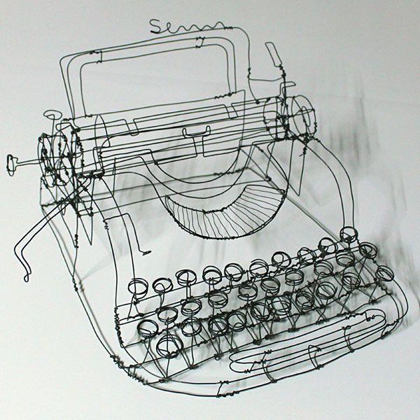 by Martin Senn: Ideas, Craft, Wireart, Wire Art, Wire Sculptures