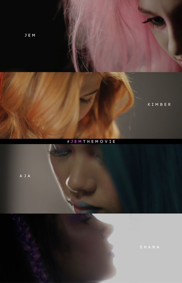 Jem and the Holograms.. Can't wait until I do t have to explain what Jem is and where my name comes from anymore!