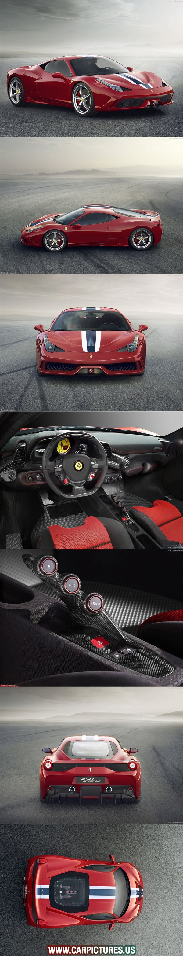 Luxury caravan with full size sports car garage from futuria - 2014 Ferrari 458 Speciale Luxurycars Vintagecars Sports Cars Find More Here Http