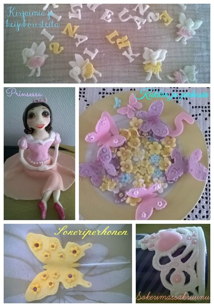 Sugarfondant decorates
