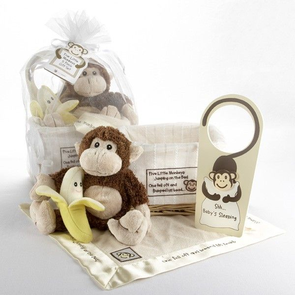 42 best monkey theme baby shower images on pinterest monkey the five little monkeys baby gift set is filled with monkey toys and keepsakes for baby the five little monkeys baby gift set also includes monkey baby negle Image collections