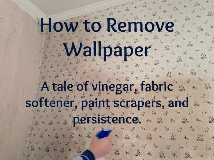 how to get rid of wallpaper paste