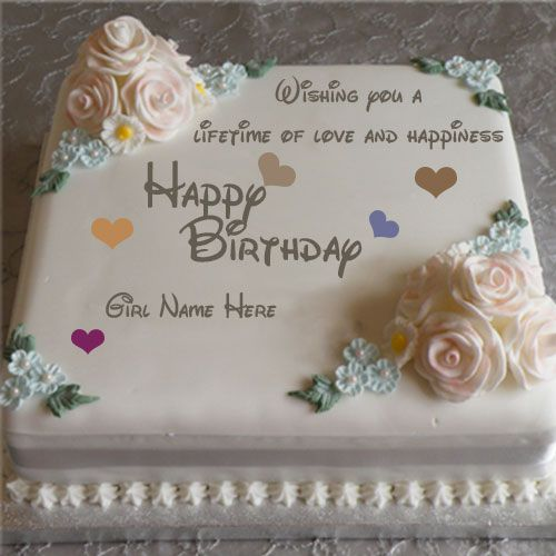 Design A Cake With Name : 689 best Happy Birthday Images images on Pinterest 3rd ...
