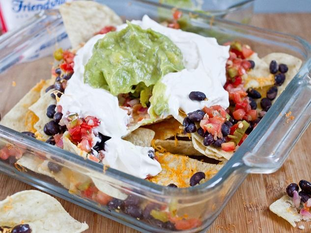 Gluten Free Vegetarian Nachos - Best Superbowl Snack Recipe ...