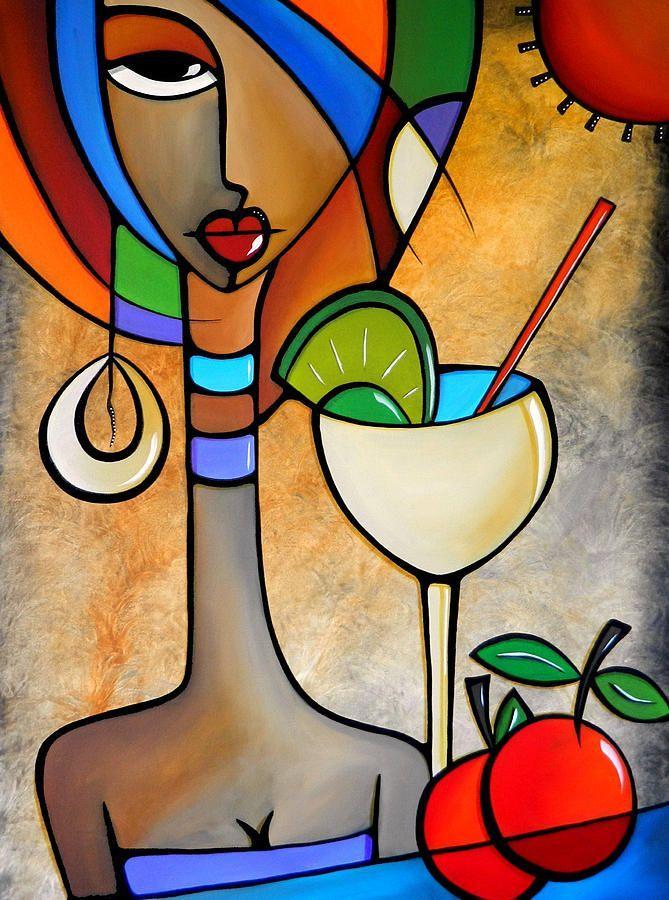 "tom fedro floral paintings | Solace"" ~ Thomas C. Fedro ~ Cubist Art"