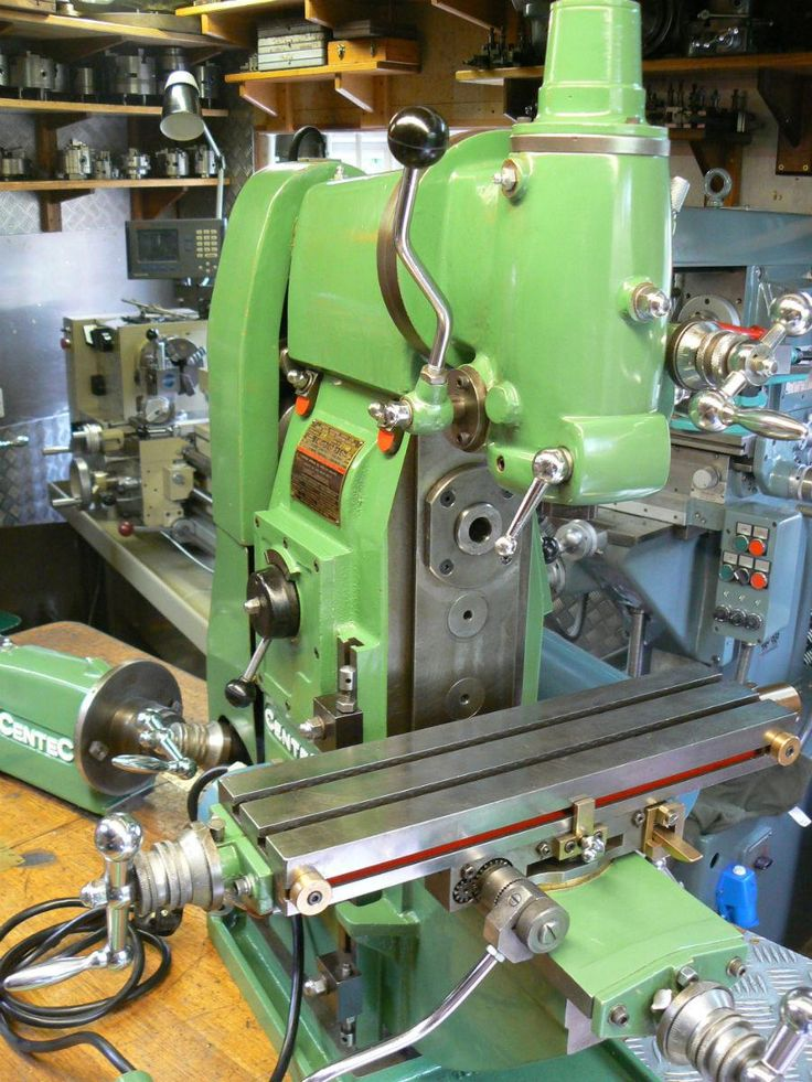 CENTEC 2A UNIVERSAL MILLING MACHINE --IN VERY NICE CONDITIO | JPEGbay.com