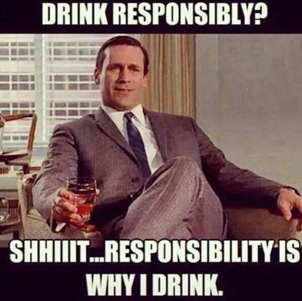 Drink responsibility