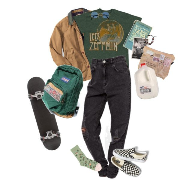 wannabe by kampow on Polyvore featuring Bonne Maison, Vans and Zayiana