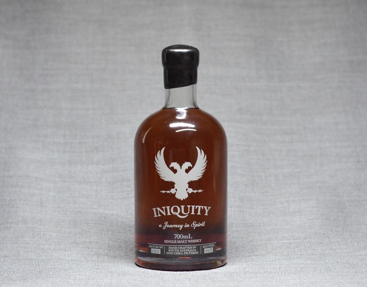 """🥃 - Lazy Summer Sweets Iniquity Batch 010 Australian Single Malt Whisky """"Honey & Dried Apricots, Leafy Tannins, Aromatic Bitters"""""""