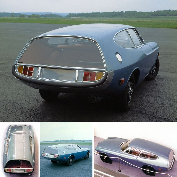 1968 Volvo P 1800 ES Rocket concept car by Frua