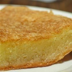 This is a very old Southern recipe. It's a very sweet, rich pie which cannot be described as anything but marvelous. This recipe was passed to me by my grandmother.