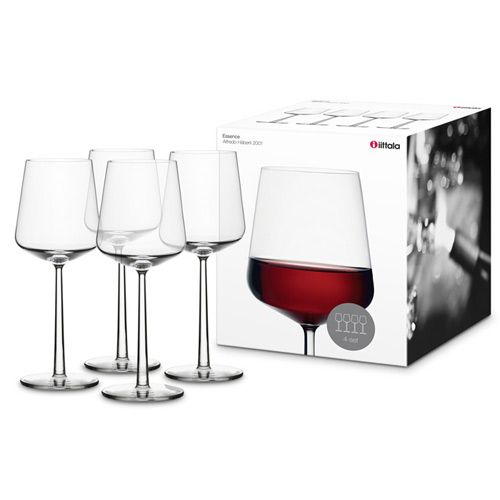 iittala Essence Red Wine - Set of 4 - Holiday Kitchen, Dining and Entertaining