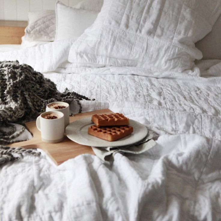A sweet breakfast in bed can be the ultimate luxury ☕️