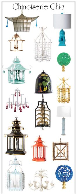 Chinoiserie lighting                                                                                                                                                                                 More